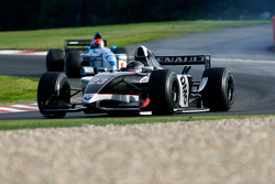 #23 Ingo Gerstl (A) TopSpeed, WS Dallara Renault 3.5 V6, and #4 Marijn Van Kalmthout (NL) Van Kalmthout Auto, F1 Tyrell 023 Yamaha 3.0 V10