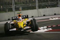 Nelson A. Piquet, Renault F1 Team, R28 in the air