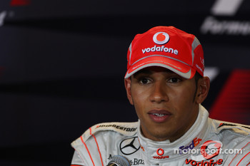 FIA press conference: second place Lewis Hamilton