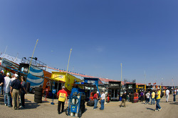 Garage area and team haulers
