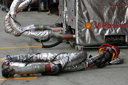Scuderia Ferrari refuelling system