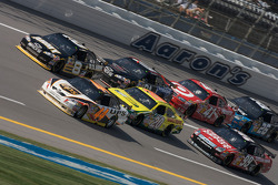 David Reutimann, Aric Almirola, Tony Stewart, Regan Smith, Carl Edwards, Reed Sorenson and Jamie McMurray