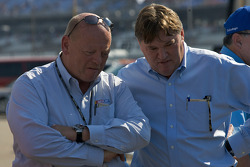 NASCAR Nextel Cup Series Director John Darby and NASCAR Vice President for competition Robin Pemberton
