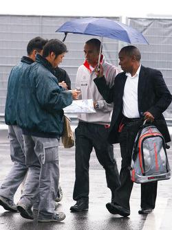 Lewis Hamilton, McLaren Mercedes and his dad Anthony