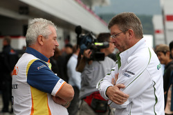 Pat Symonds, Renault F1 Team, Executive Director of Engineering, Ross Brawn Team Principal, Honda Racing F1 Team
