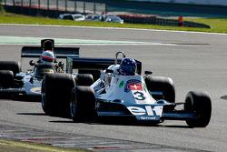#3 Andrea Bahlsen, Tyrrell 008; #2 Patrick Van Heurck, Lotus 72