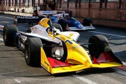 #11 Walter Colacino, IRL G-Force; #65 Alain De Blandre, CART Lola