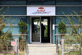 Red Bull Racing hospitality