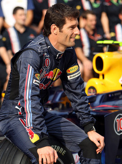 Red Bull Racing photoshoot: Mark Webber