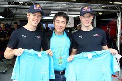 Sebastian Vettel, Scuderia Toro Rosso, Jet Li Film Star, Sébastien Bourdais, Scuderia Toro Rosso