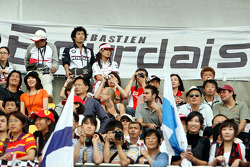 Fans of Sébastien Bourdais