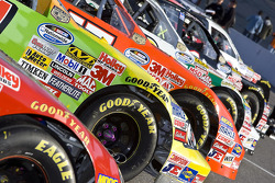 The Nationwide Series cars lineup