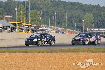 #37 Chris Castagna passing #17 Timmy Megenbier