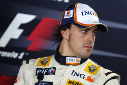 Post-race press conference: second place Fernando Alonso