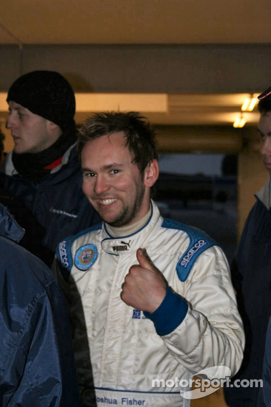 Josh Fisher delighted with 2nd place