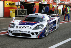 #7 Larbre Competition Saleen S7: Vincent Vosse, Greg Franchi