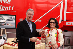 Sunday: Piero Ferrari and Julia De Baldanza