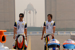 Nelson A. Piquet and Lucas Di Grassi