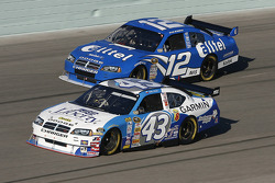 Bobby Labonte and Ryan Newman