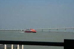 Fast ferries between Hong Kong and Macau bring the crowds