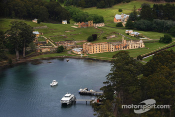 Port Arthur, Australia: the historic site of Port Arthur is seen