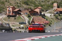 #57 Kessel Racing Ferrari F430: Henri Moser, Niki Cadei