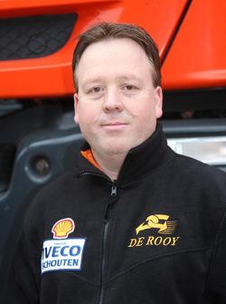 Team de Rooy: Toine van Oorschot, assistance truck #858