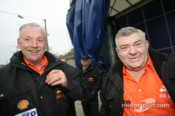 Team de Rooy: Hans Bekx and Jan de Rooy