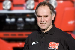 MAN Rally Team: Franz Echter, driver truck 2