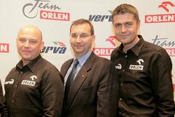 Orlen Team media presentation: Jacek Czachor and Krzysztof Holowczyc
