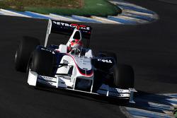 Robert Kubica,  BMW Sauber F1 Team, interim 2009 car- Formula 1 Testing, Jerez