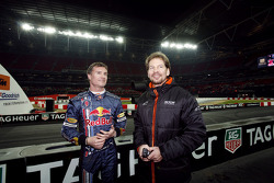 David Coulthard with Frederik Johnson