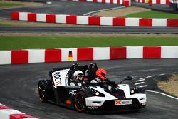 Semi final, race 3: Michael Schumacher