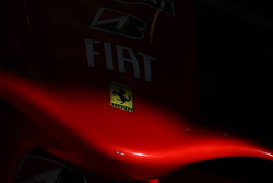 Ferrari badge on the nose cone