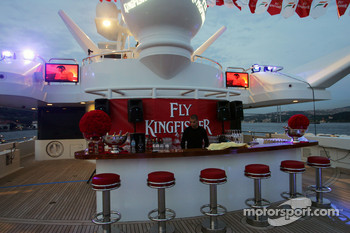 The Fly Kingfisher Boat Party