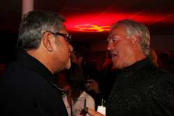 Vijay Mallya at the Fly Kingfisher Boat Party