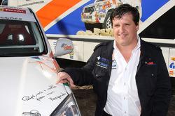 Equipa Padock: driver Martine Pereira
