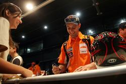 Team KTM at administrative check