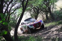 #300 Mitsubishi Racing Lancer: Stéphane Peterhansel and Jean-Paul Cottret