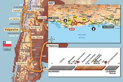 Stage 8: 2009-01-11, Valparaiso to La Serena