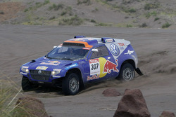 #307 Volkswagen Touareg: Dieter Depping and Timo Gottschalk