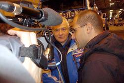 Team Kamaz Master and Semen Yakubov at scrutineering