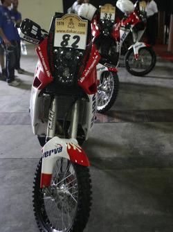 #82 KTM 690 of Jakub Przygonski