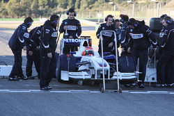 Robert Kubica, BMW Sauber F1 Team first installation lap