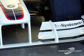 Technical detail, front wing, Robert Kubica, BMW Sauber F1 Team