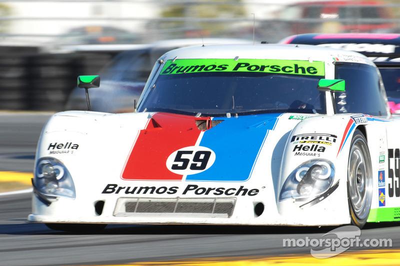 #59 Brumos Racing Porsche Riley: Joao Barbosa, Terry Borcheller, JC France, Hurley Haywood