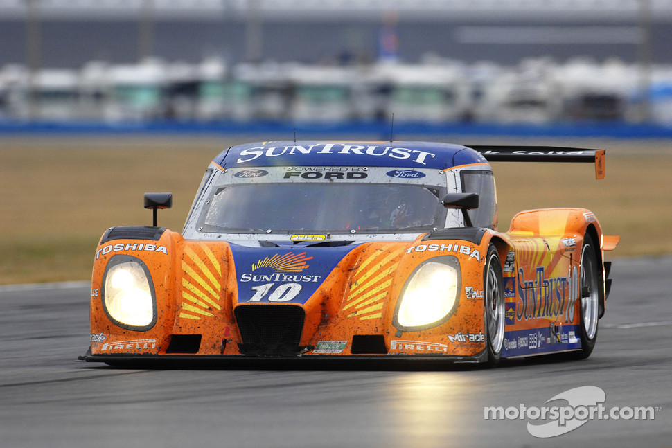 #10 SunTrust Racing Ford Dallara: Max Angelelli, Brian Frisselle, Pedro Lamy, Wayne Taylor