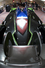 #9 Patron Highcroft Racing Acura ARX 02a Acura rear wing detail