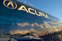 Acura Motorsports transporter