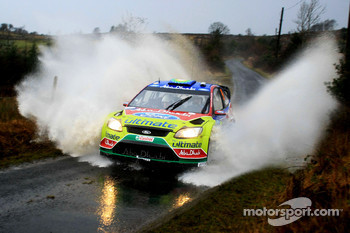 Khalid Al Qassimi and Michael Orr, Ford Focus RS WRC 07, BP Ford Abu Dhabi World Rally Team